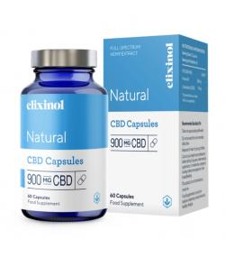 Elixinol 900mg CBD Hemp Oil 60 Capsules